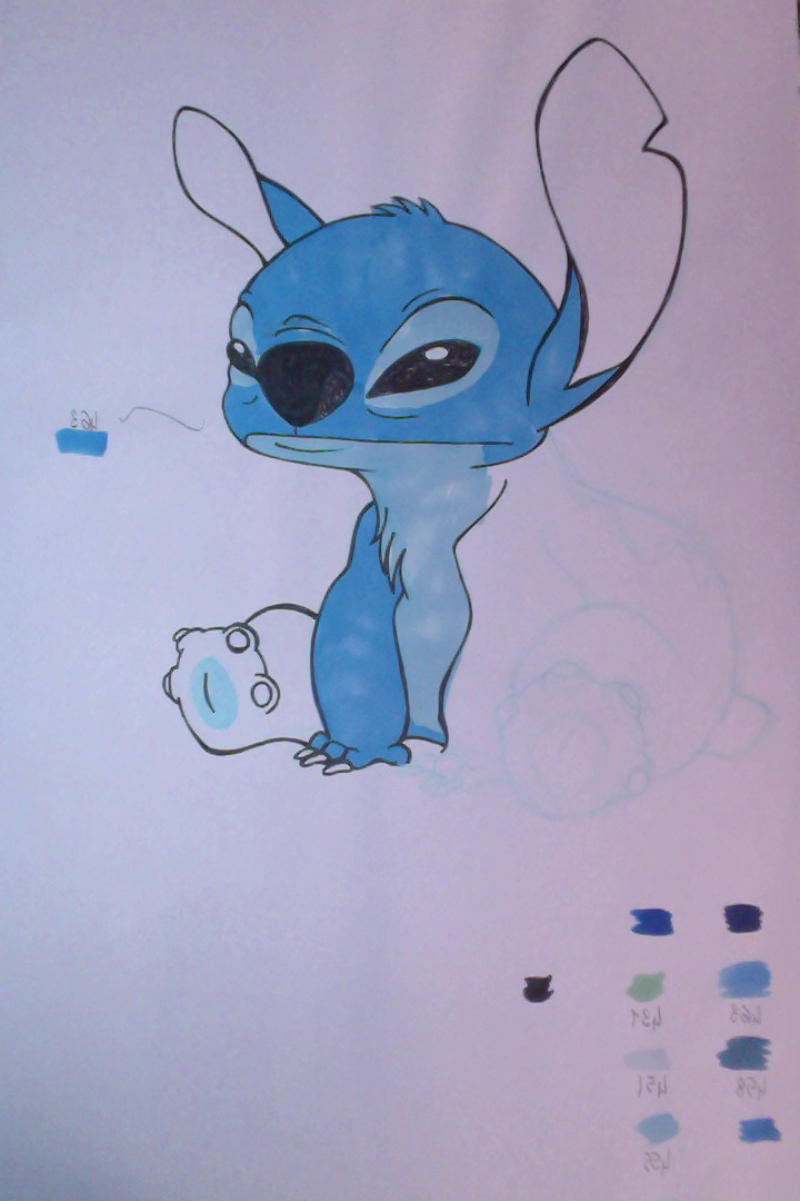 Just funny e fu la volta di stitch for Disegni tumbler