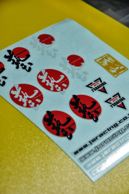 js racing decal vinyl - js racing japan 3