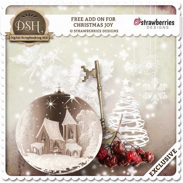 "New kit ""Christmas Joy"" and freebie"