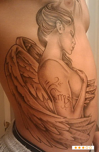 Virgo Tattoos3D Tattoo... Virgo Star Sign Tattoos For Men