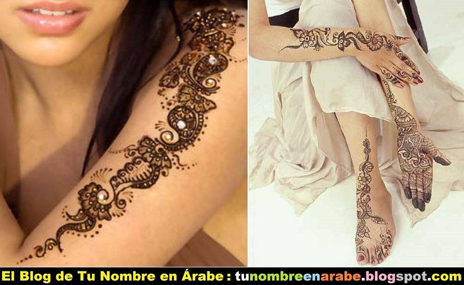 Tatuajes Temporales de Henna: La Receta, Aplicación y muchos ...
