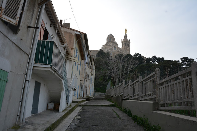 Notre-Dame de la Garde climb