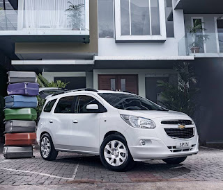 Chevrolet Previews Spin; Pre-Launch Price Offer of P 798,888 (w