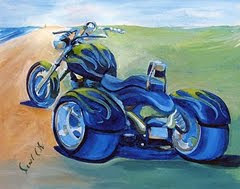 A Trike on Canvas