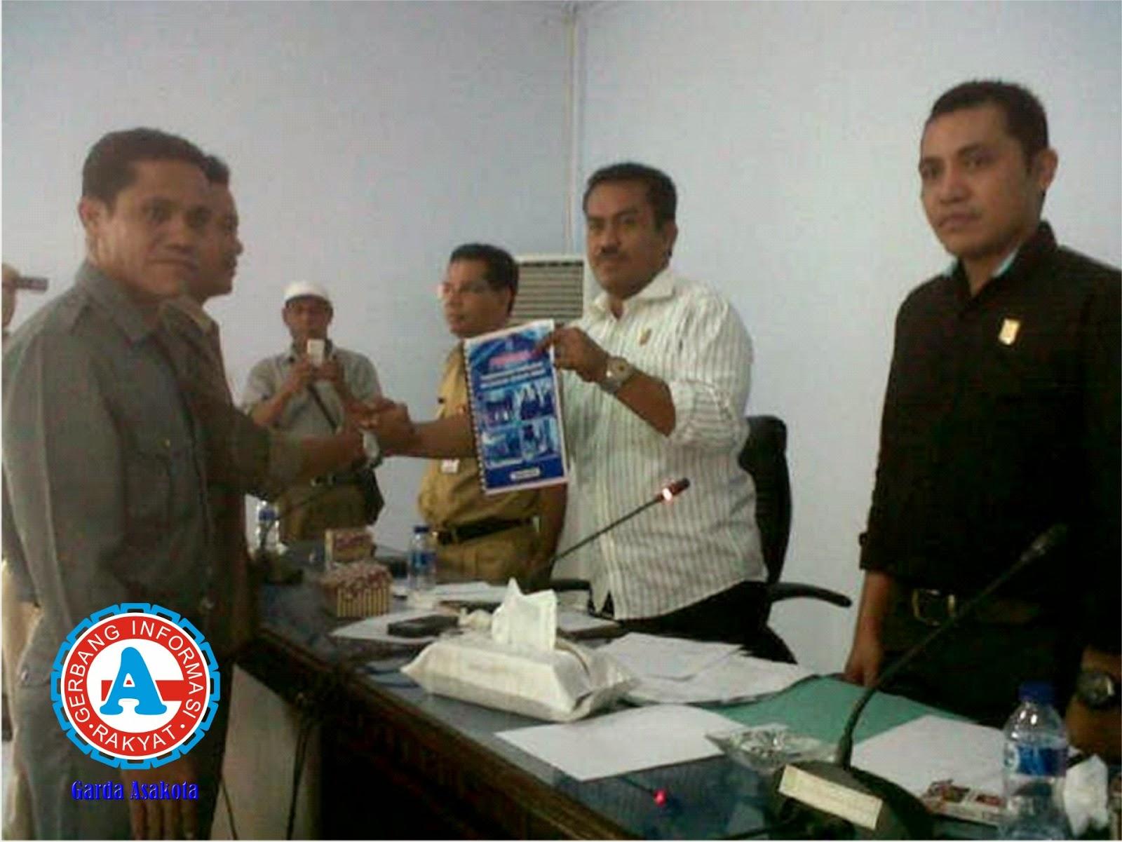 Audensi dengan DPRD Warga Jatibaru Tuntut Pemekaran