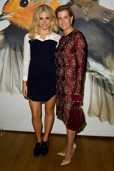 Pixie Lott and Sophie, Countess of Wessex attends The Friendship Ball in aid of the Great Ormond Street Hospital