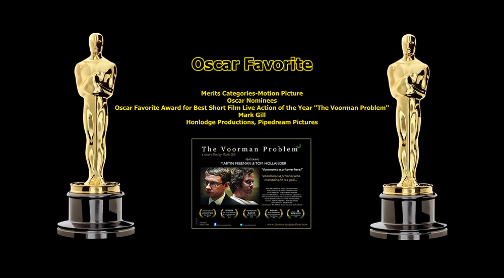 oscar favorite best short film live action award the voorman problem