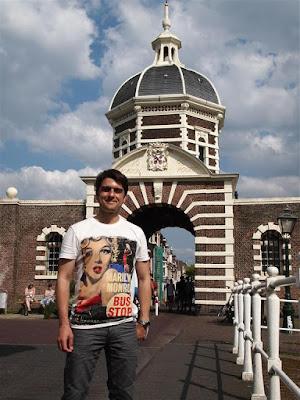 Puerta Morschpoort de Leiden