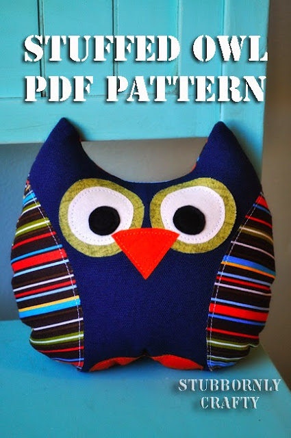 owl toy sewing tutorial