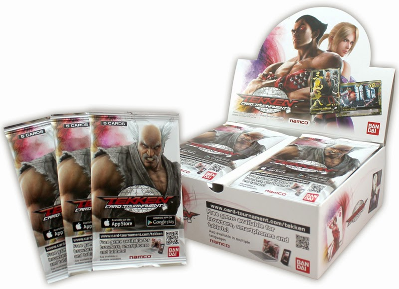 Tekken Card Booster Packs Box Cards Nina