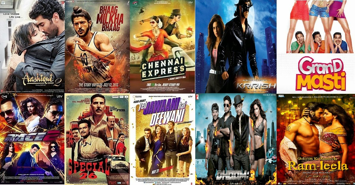 Box Office Highest Grossing Movies List of 2013 By Collection