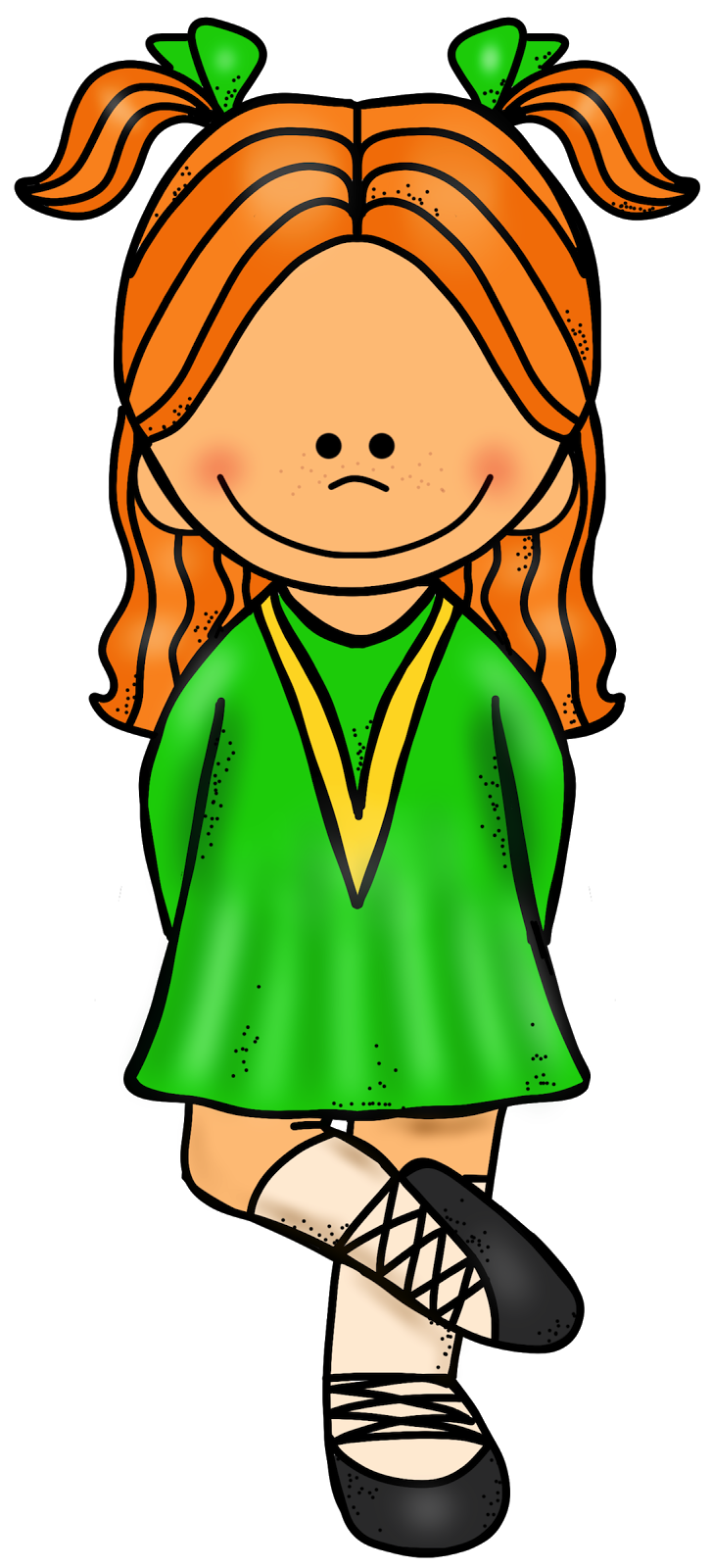 Dancer Clipart Png Free} Irish Dancer Clipart