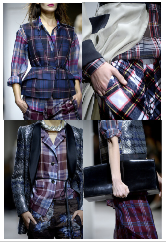 Dries van Noten Spring 2013, plaid, prints, details, sheer, layers, layering, runway, fashion, paris, style