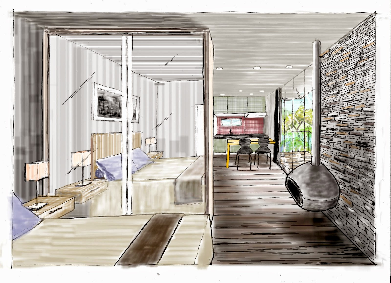 Preferência BORTOLINI ART & DESIGN | Desenho à Mão Livre para Arquitetura e  JA09