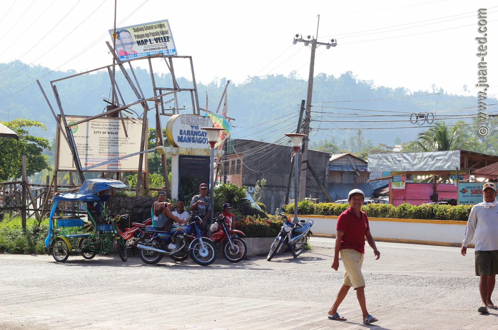 Bislig Philippines  City pictures : Mangagoy Bus Terminal & Habal habal, Mangagoy, Bislig City, Province ...