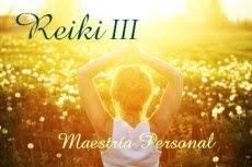 """Curso: Reiki III """"Maestría Personal"""""""