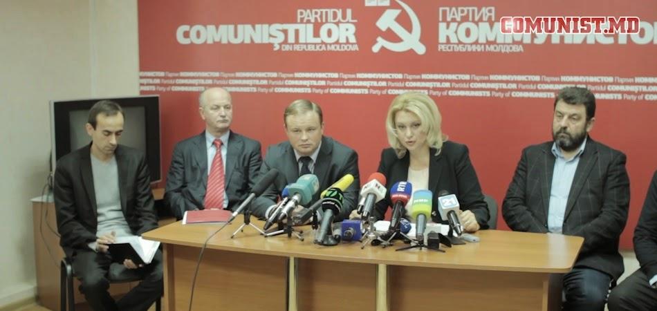 Пресс конференция ПКРМ от (12.11.2014) (ВИДЕО)