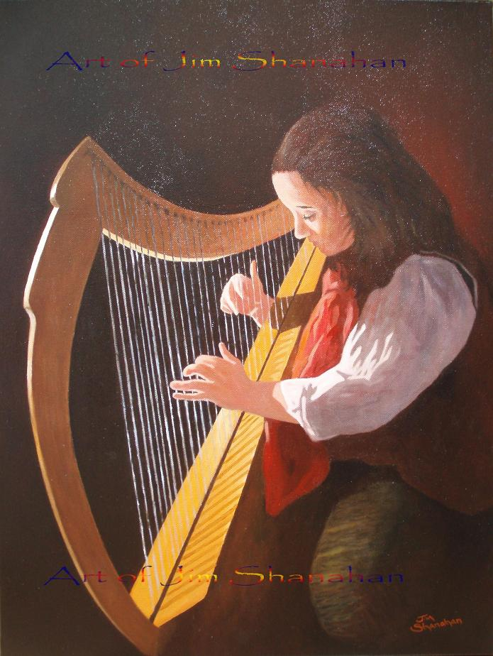 Oiche Ceol -- For Sale Framed Euro 550