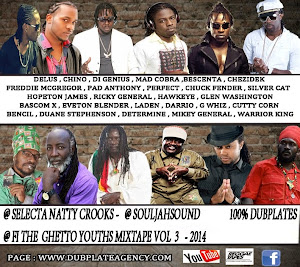 Selecta Natty Crooks - Fi The Ghetto Youths Dubplate Mix Vol.3 - 2014 - - 100% dubplate Mixtape