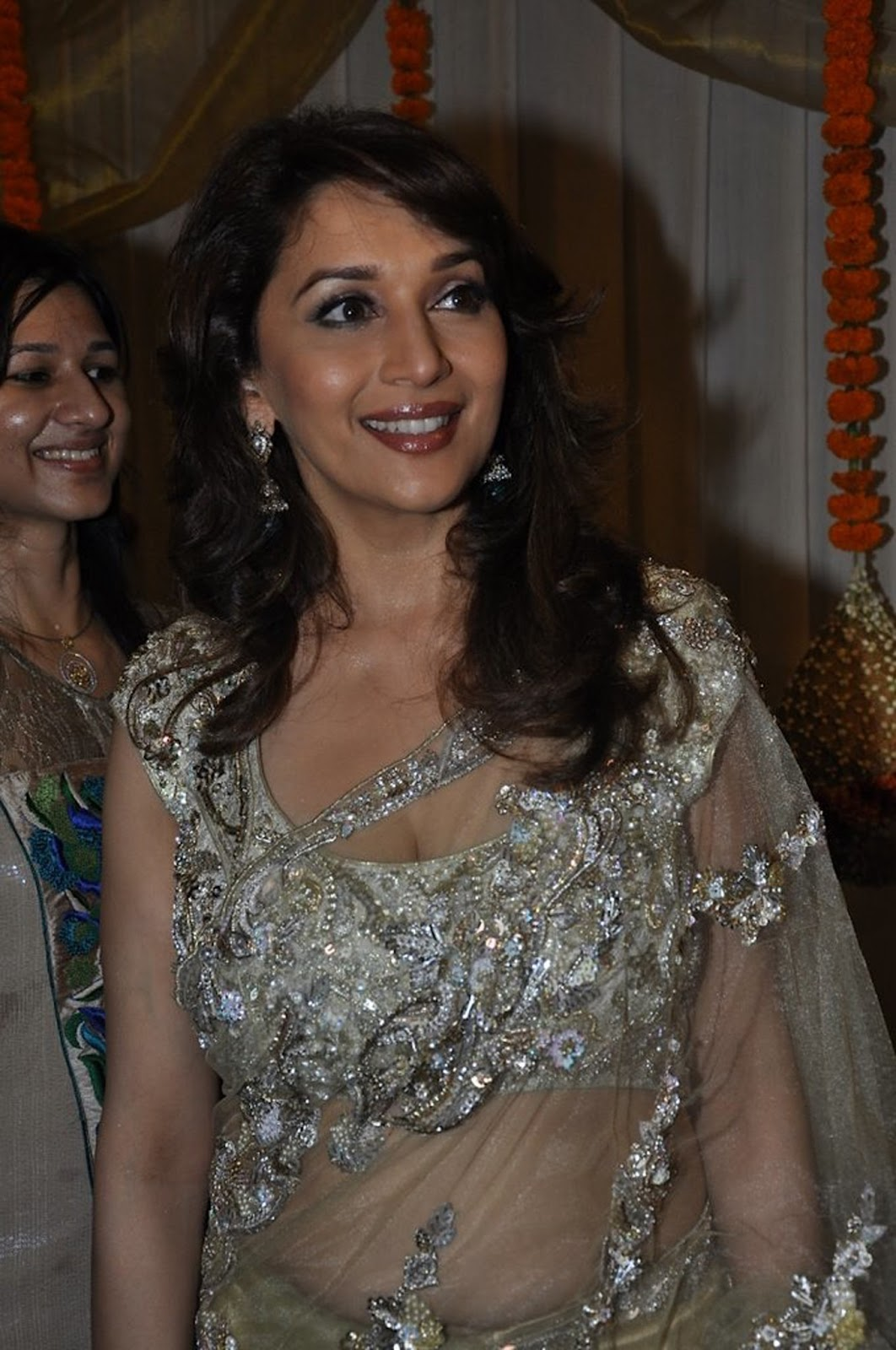Madhuri at an event