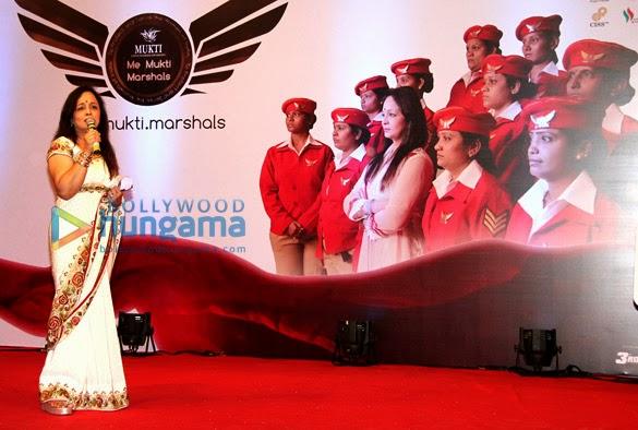 Smita Thackeray, Divya Khosla Kumar at 'Me Mukti Marshalls' launch