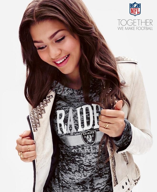 Zendaya: Modelo de ropa adolescente de la NFA