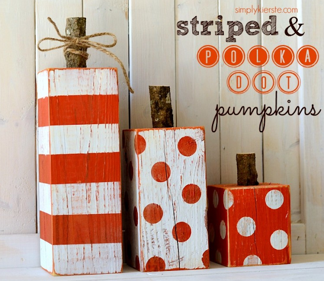 diy wooden pumpkins
