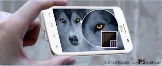 LG Optimus L4 II Dual E445 IPS LCD 3.8 inch