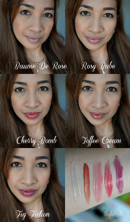 BY TERRY Baume De Rose Set , Rose Balm Tinted Collection, Photos, Review, Swatch, FOTD, Baume De Rose Nutri-Couleur, Rosy Babe, Cherry Bomb, Fig Fiction, Toffee Cream