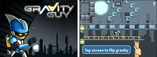 Gravity Guy - One Button Game