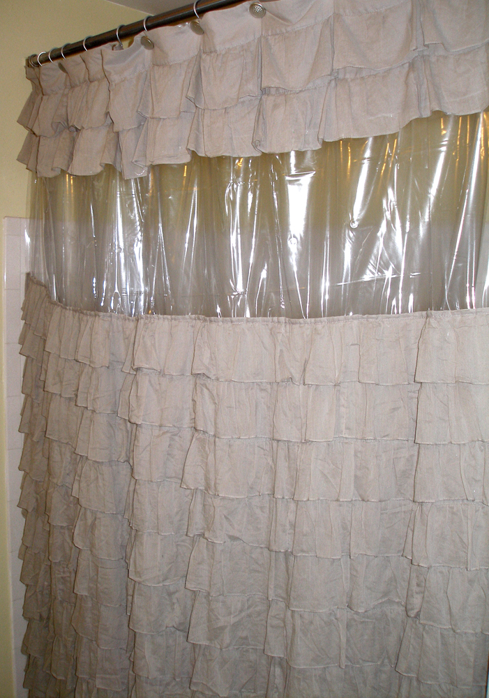 gallery for clear view shower curtain