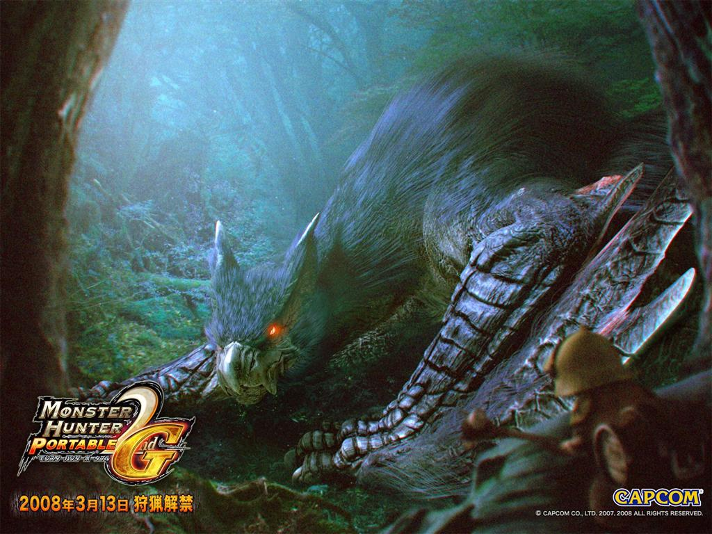 Monster Hunter HD & Widescreen Wallpaper 0.523945163766874