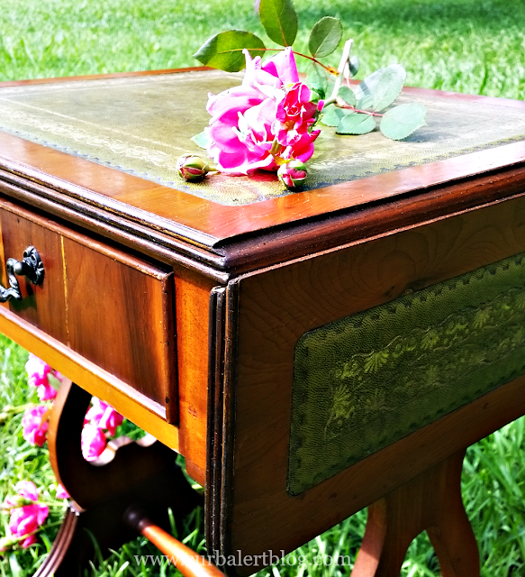 Antique Drop Leaf Table Restoration via Curb Alert!