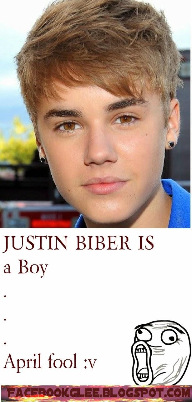 April fool joke about Justin Biber