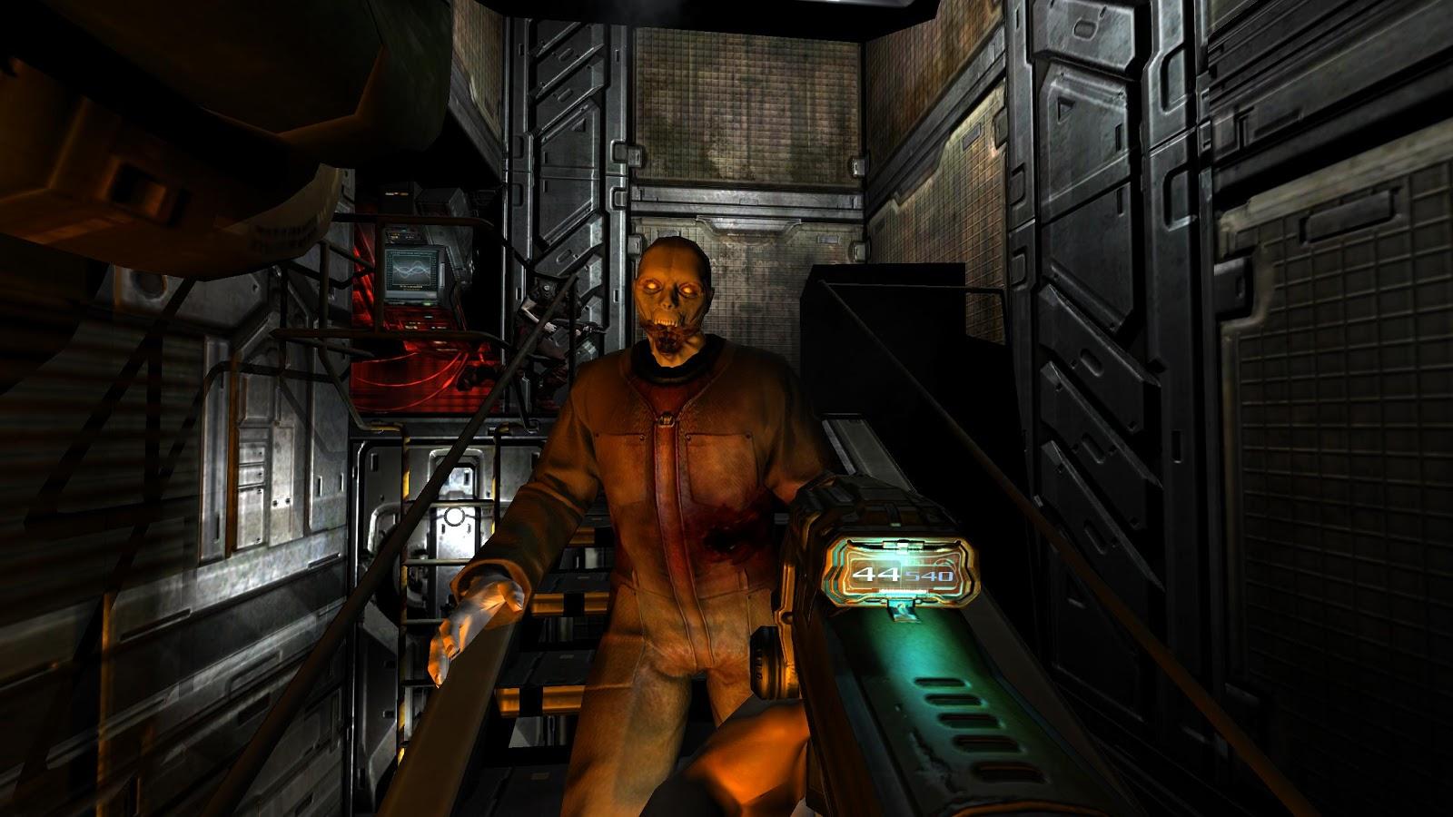 Un zombie de Doom, o de Savage Doom