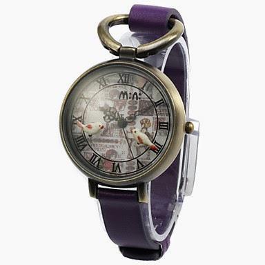Reloj Pulsera estilo Bolsillo con Pajaritos