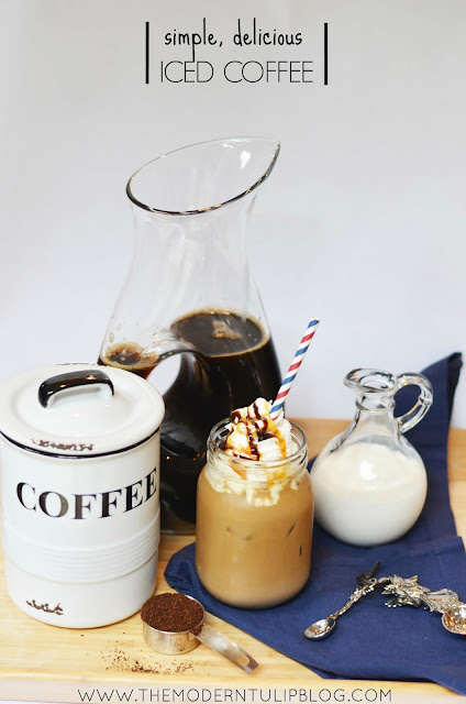 Simple, delicious iced coffee recipe