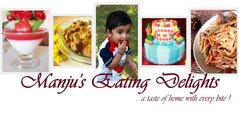 Manju&#39;s Eating Delights