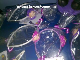 fofucha-creacionesreme-personalizadas-foami –diademas-horquillas