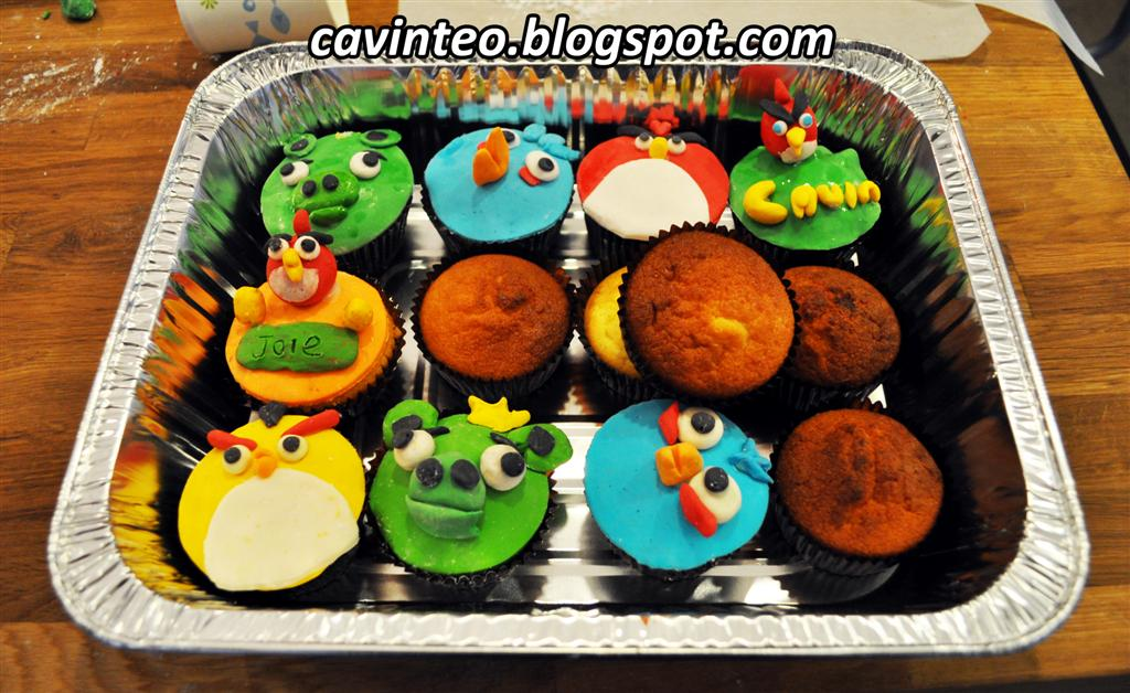 Entree Kibbles Angry Birds Cupcakes Decoration Class Cookyn Inc