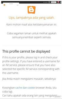 Mengatasi Eror Crash Pada Dashboard Blogspot Bagian Layout Tata Letak Gadget Yang Tidak Muncul