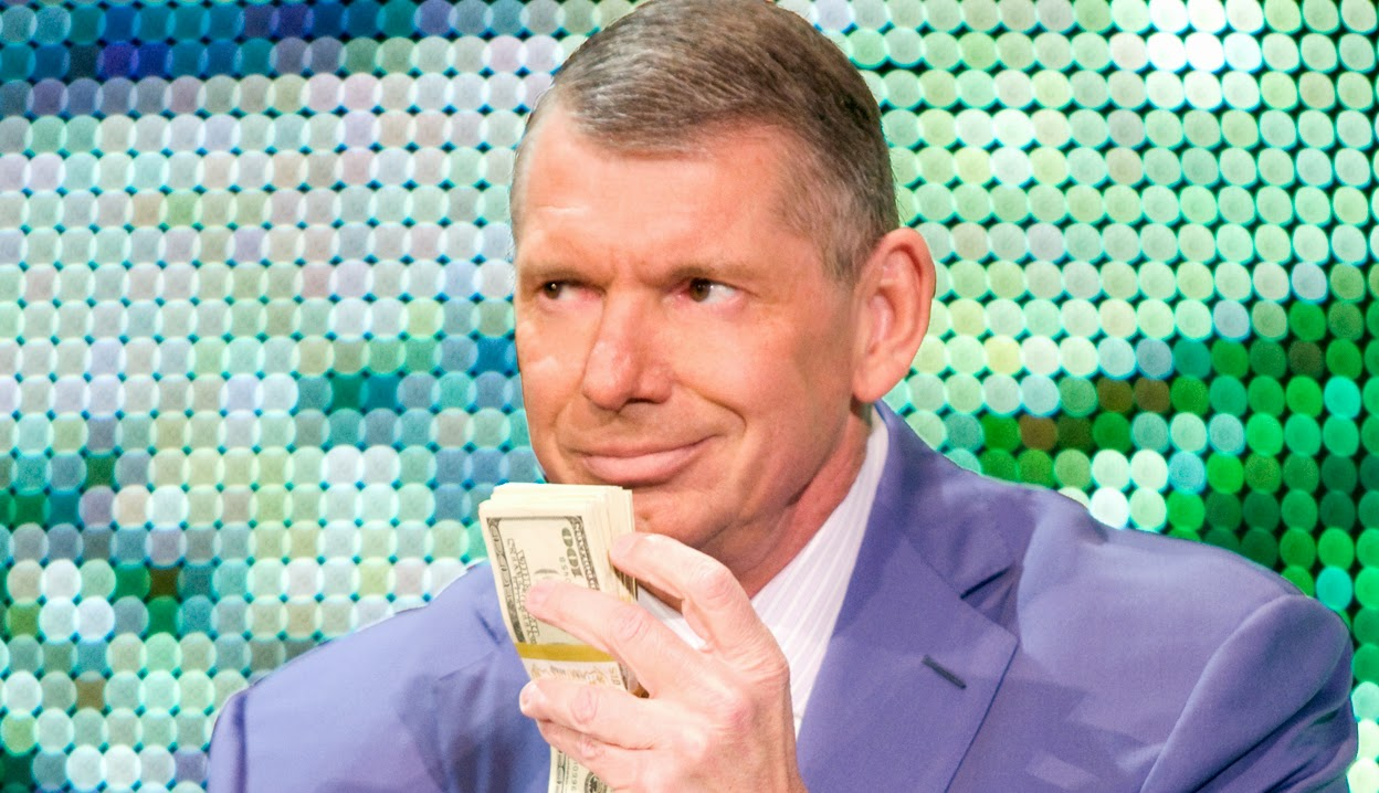 WWE Vince McMahon's Millions all about the money