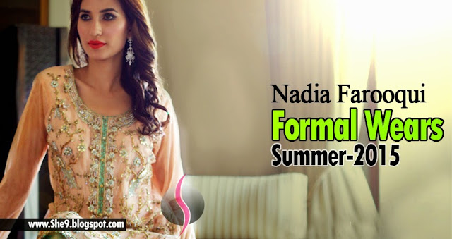 Nadia Farooqui New Formal Wears