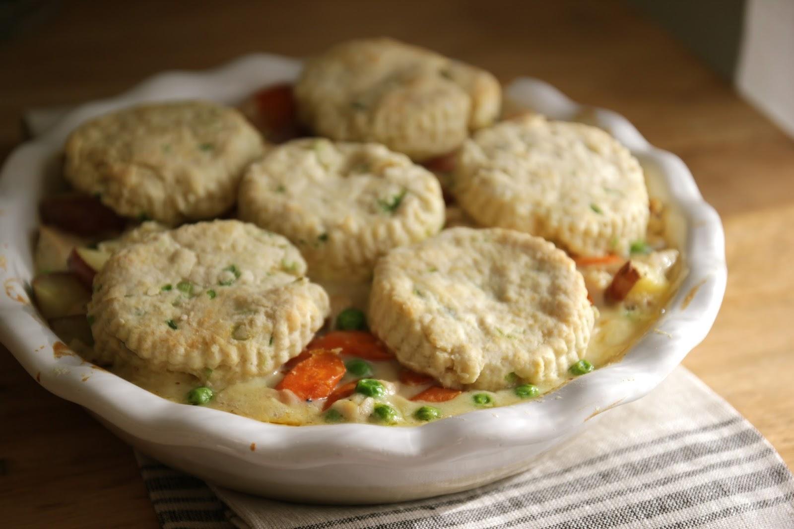 Jenny Steffens Hobick: Chicken & Chive Biscuits Pot Pie