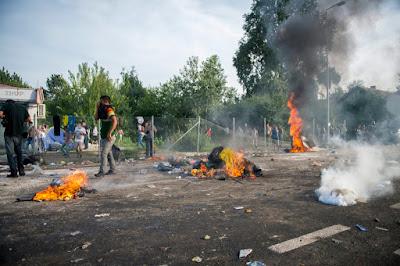 Röszke, Horgos-Röszke, illegális bevándorlás, migráció, menekültválság, Magyarország, magyar-szerb határ,