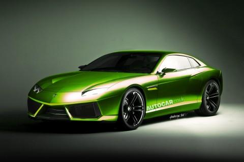 Lamborghini on Motori 24  Lamborghini  A Ginevra Con Una V12 A Motore Anteriore