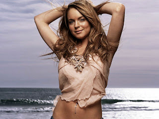 Lindsay Lohan Wallpaper hot