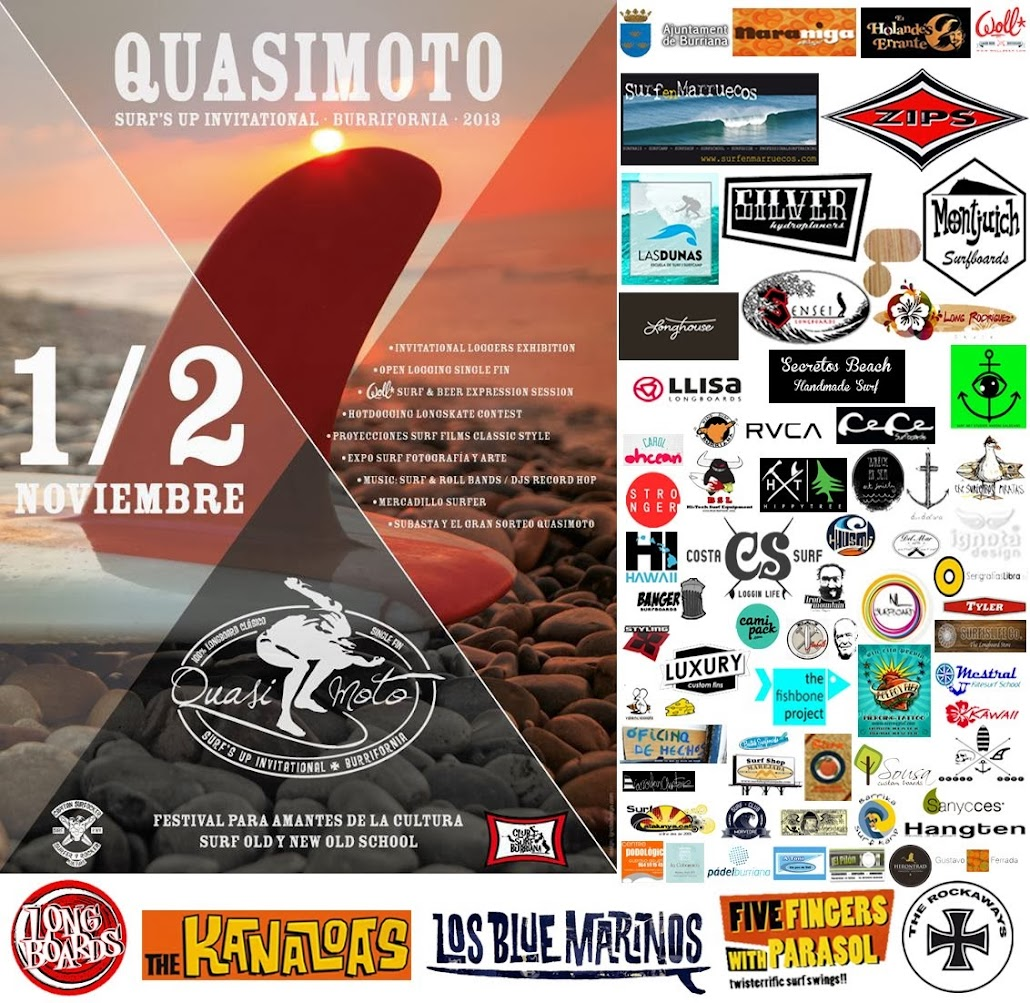QUASIMOTO SURF'S UP INVITATIONAL BURRIFORNIA 2013
