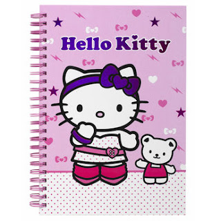 Hello Kitty notepad binder