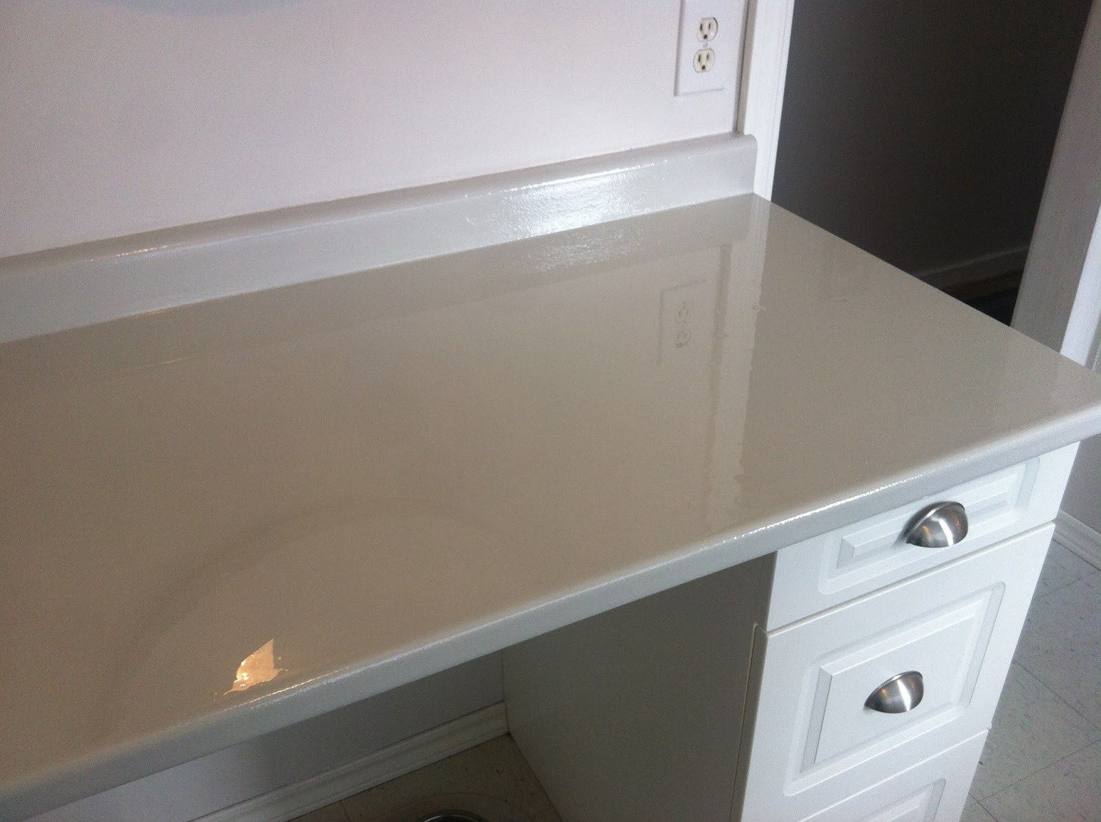 Countertop Paint Stainless Steel : ... if you too want to transform your ugly countertops from drab to fab